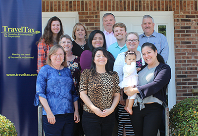 Travel Tax Group Photo