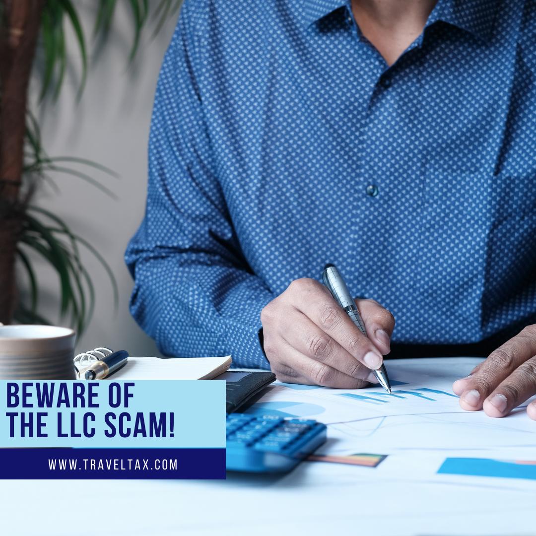 Beware of the LLC Scam!