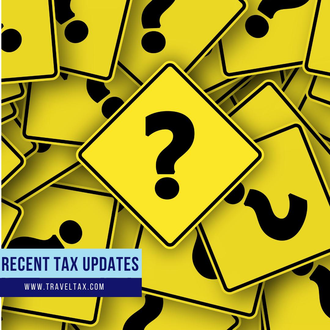 Recent Tax Updates Blog Cover